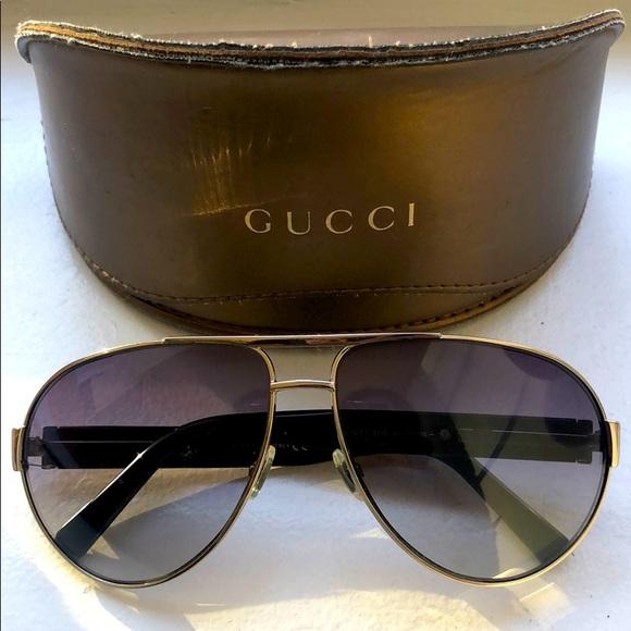 Gucci aviator shades